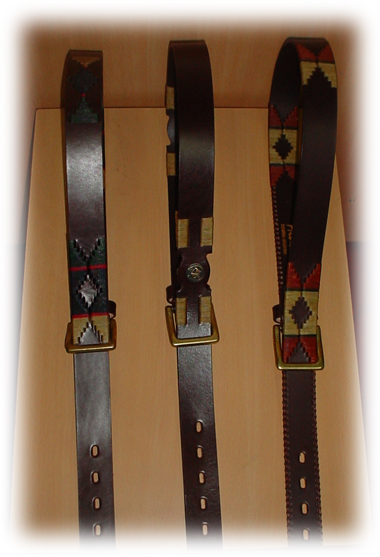 Cinturon bordados varios